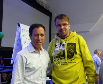 Jacek with my Mentor- Blair Singer author books like Sales Dogs, Little Voice jpeg (Small)