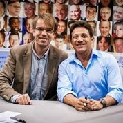 Jacek with Jordan Belfort -Wolf from Wall Street 1